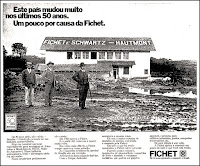 Fichet, 1973; os anos 70; propaganda na década de 70; Brazil in the 70s, história anos 70; Oswaldo Hernandez;