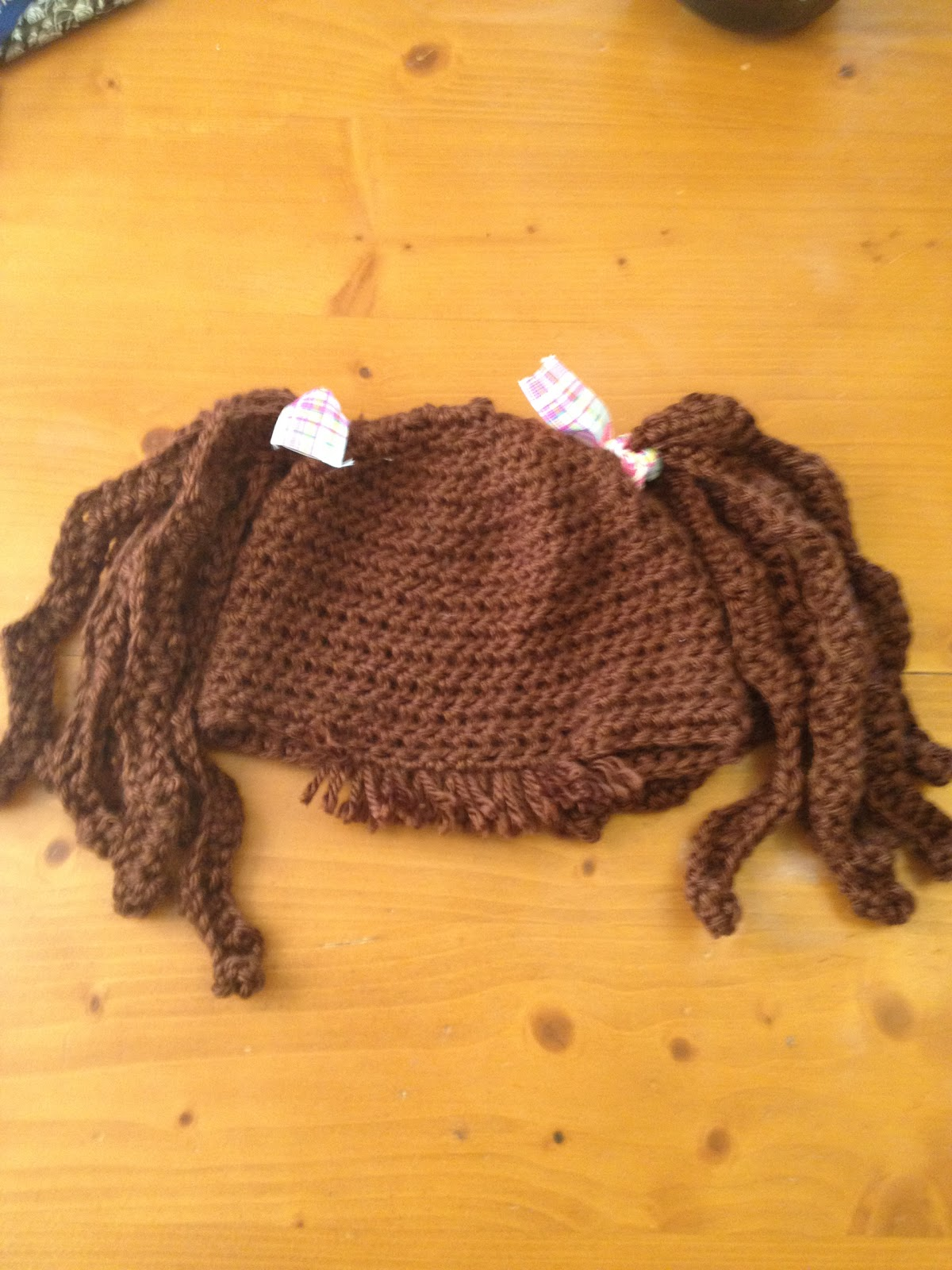 Free Crochet Baby Pig Hat Pattern : MandaLynns Crochet Treasures : Baby