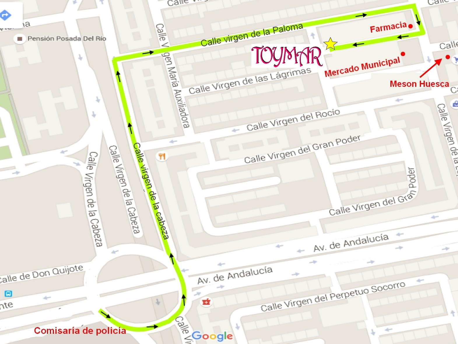 ¿Como llegar? Google Maps