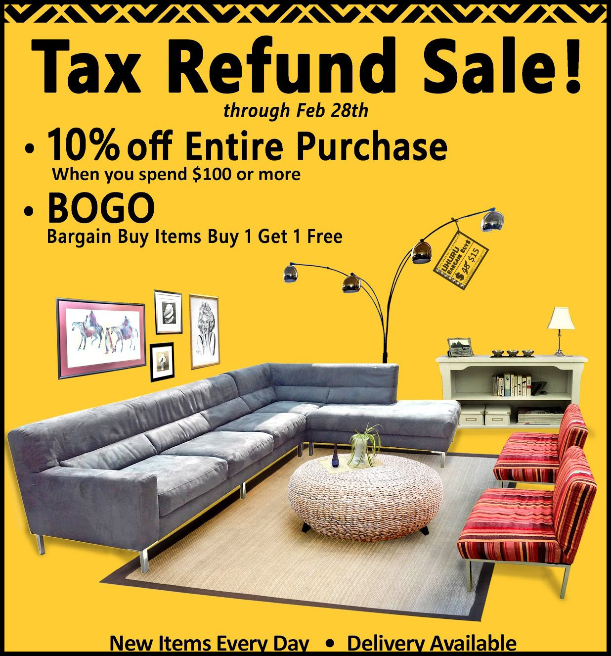 Tax Refund Sale!