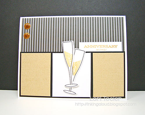Anniversary Wishes card-designed by Lori Tecler/Inking Aloud-stamps and dies from Papertrey Ink