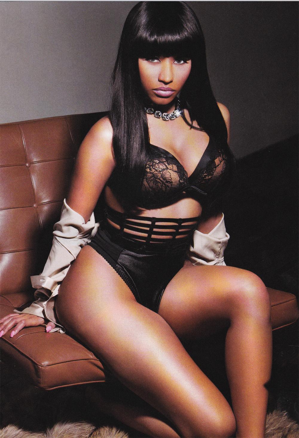 ¡Como nunca la has visto! Nicki Minaj se desnuda por
