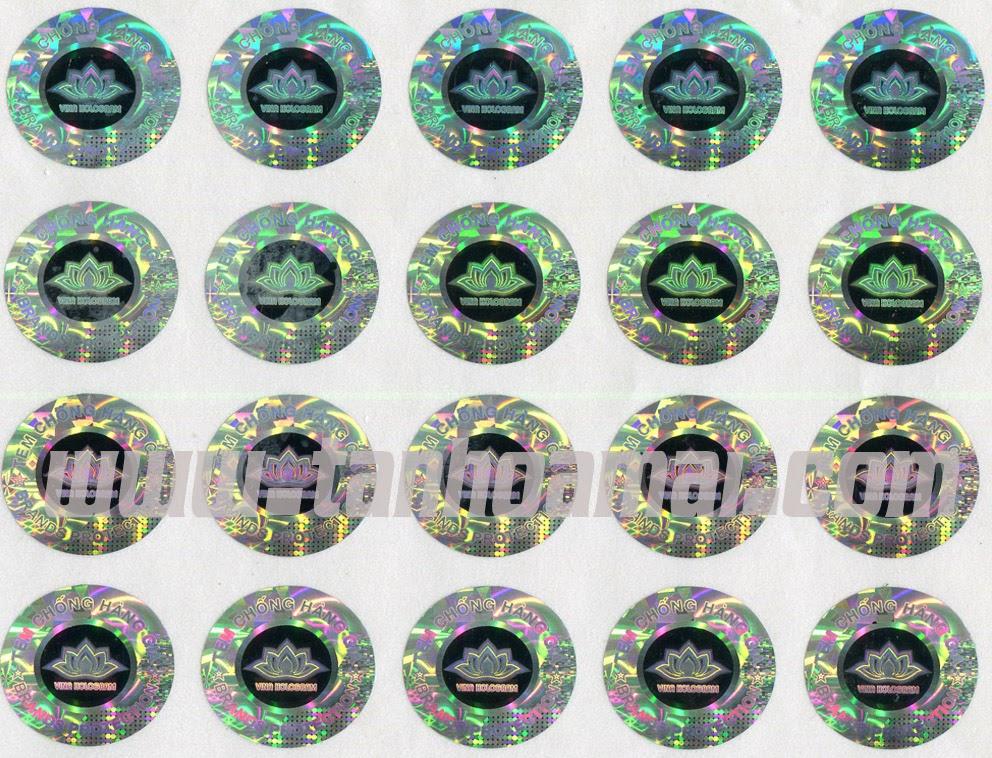Tem Chống Hàng Giả Hologram