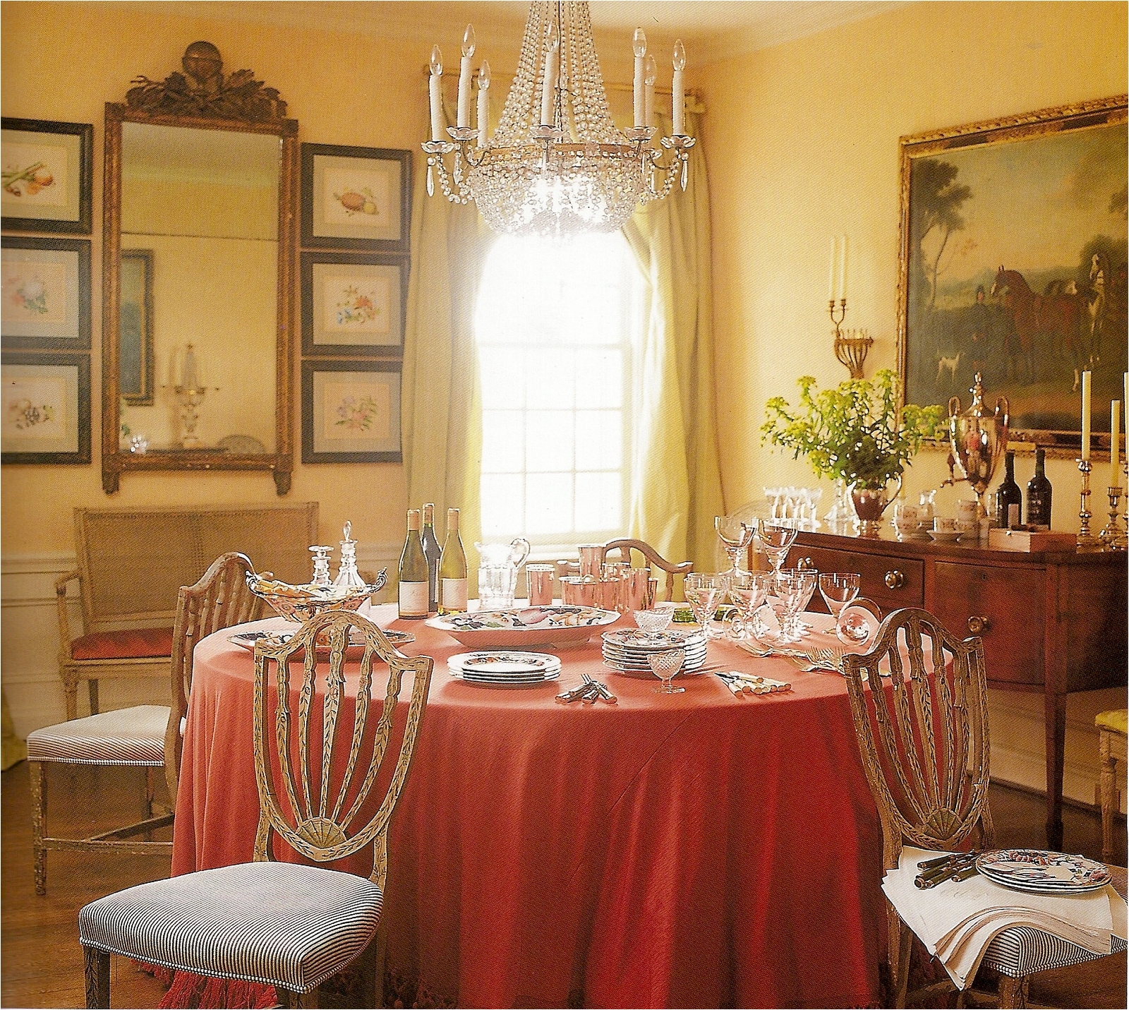 Romantic dining room design ideas room design ideas for Decorating the dining room ideas