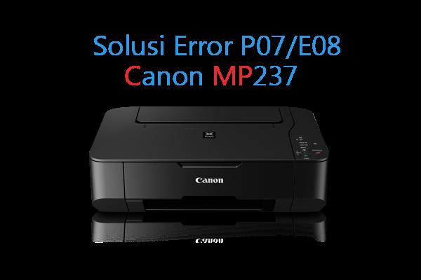 Cara mudah reset printer Canon MP237