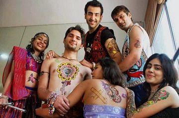 Modern Tattoo Designs For Navratri Celebration