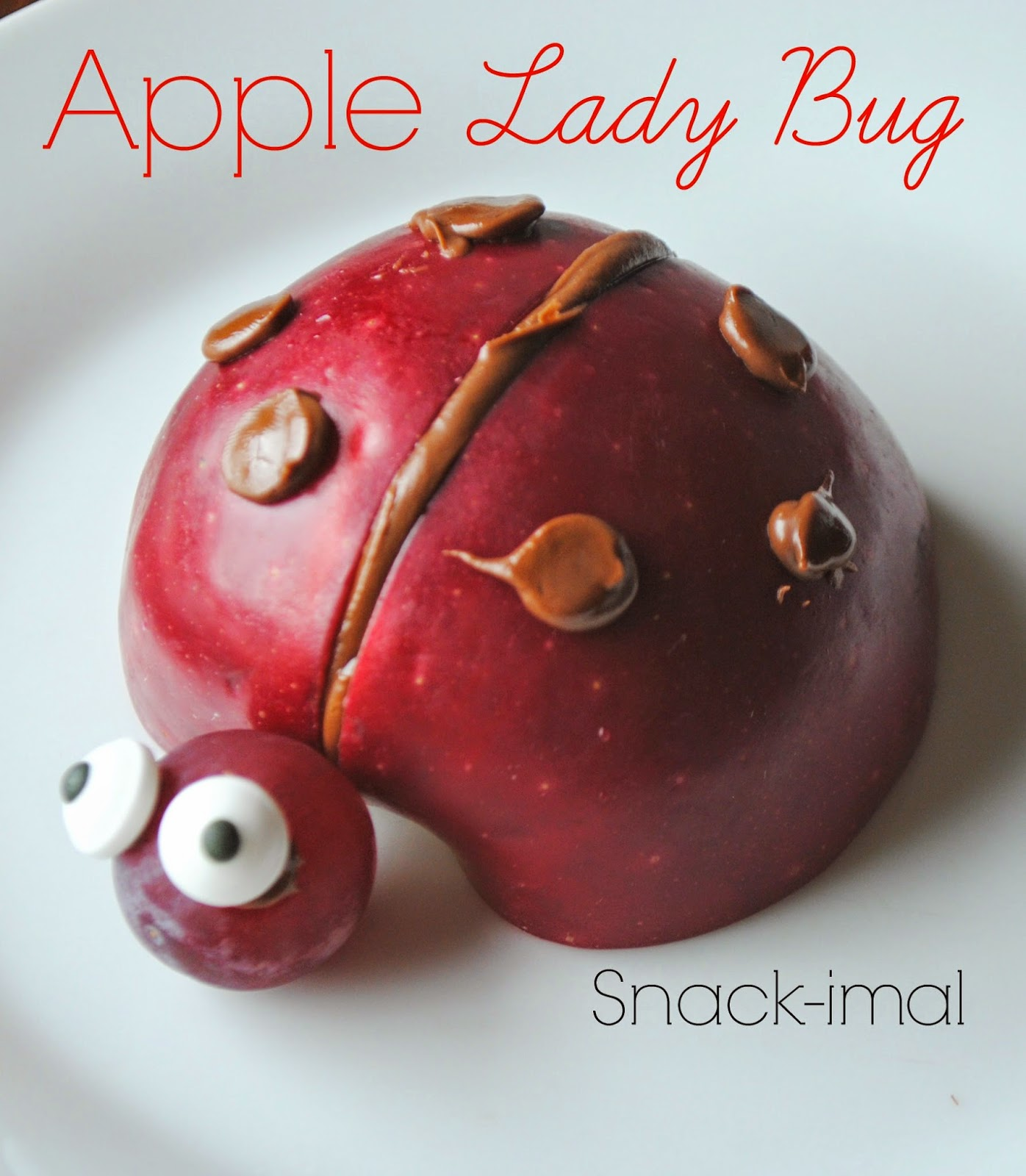 Apple Lady Bug Snackimal
