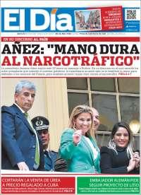 23/01/2020  PRIMERA PÁGINA EL DÍA DE BOLIVIA