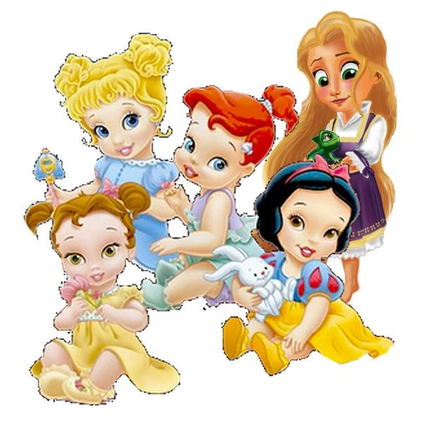 Princesas Bebés Disney: imágenes e imprimibles gratis para fiestas ...