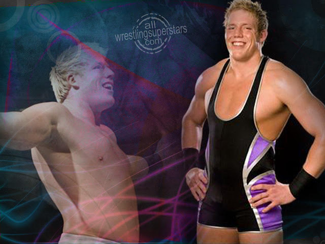 Jack Swagger giving a smile