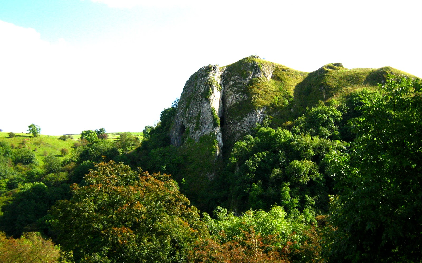 Crag with Thor's Cave