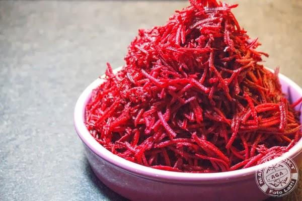 Relish van rode bietjes