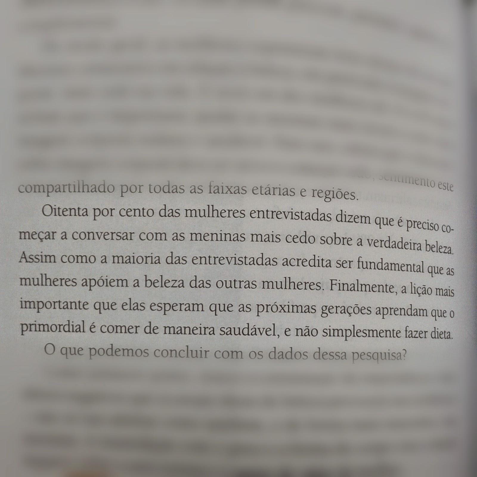 """Trecho do livro """"A Beleza Impossível"""" de Raquel Moreno"""