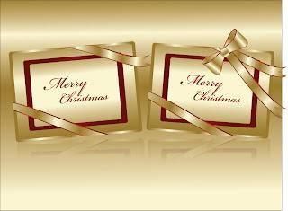 クリスマスを祝うクールな背景 festive christmas background vector イラスト素材1