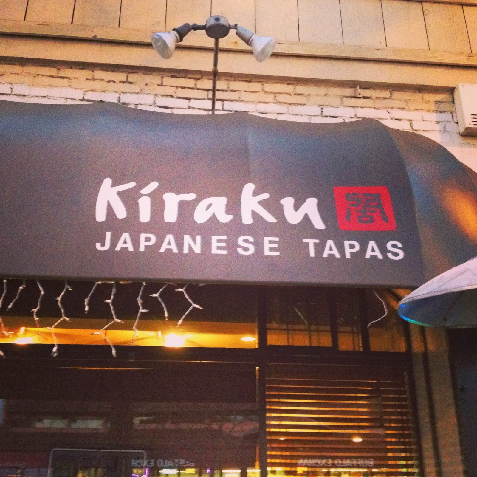 Kiraku : Japanese Tavern and Tapas