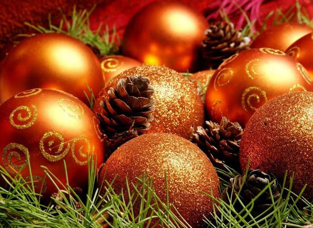 large christmas balls