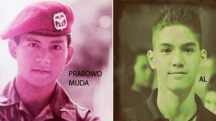 Foto Al Ghazali vs Prabowo Gambar Al Ghazali Ahmad Dhani Mirip Prabowo
