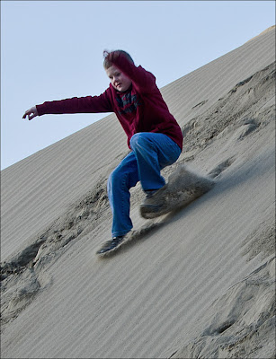 Vantage area sand dunes.