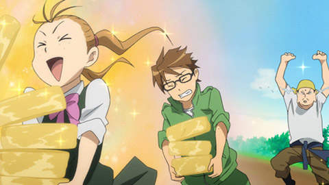 Gin no Saji/Silver Spoon Cap 4 Sub Español MP4 HD | SD Ligero Mega Multi Served