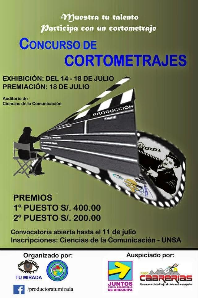 Concurso de cortometrajes Arequipa