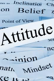 Attitude essay explain in