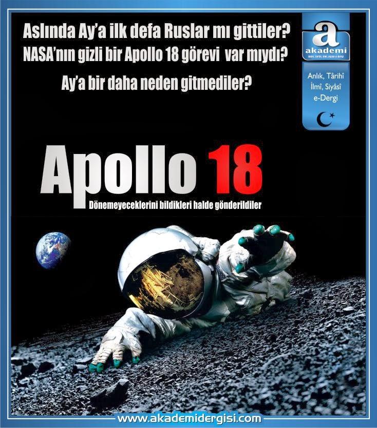 Apollo 18 Filmi | Ölüm yolculuğu | Ay'a bir daha neden gitmediler?