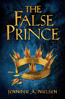 The False Prince book cover by Jennifer A. Nielsen
