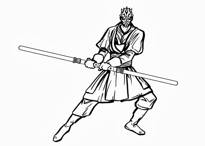 Darth Maul coloring pages | Free Coloring Pages and ...