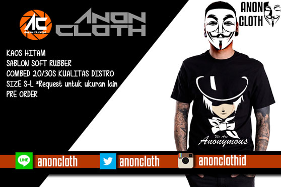 Kaos Anonymous Black Hat