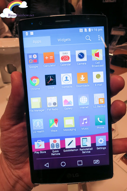 LG G4 screen
