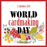 "World Cardmaking Day 2017 - Skandinavisk Cyber Crop Event i FB gruppen ""The Paper Events""."