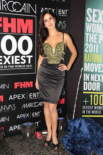Bollywood Actress Katrina Kaif In Hot Exposed Dress Latest Stills