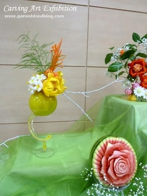 fruit carving art