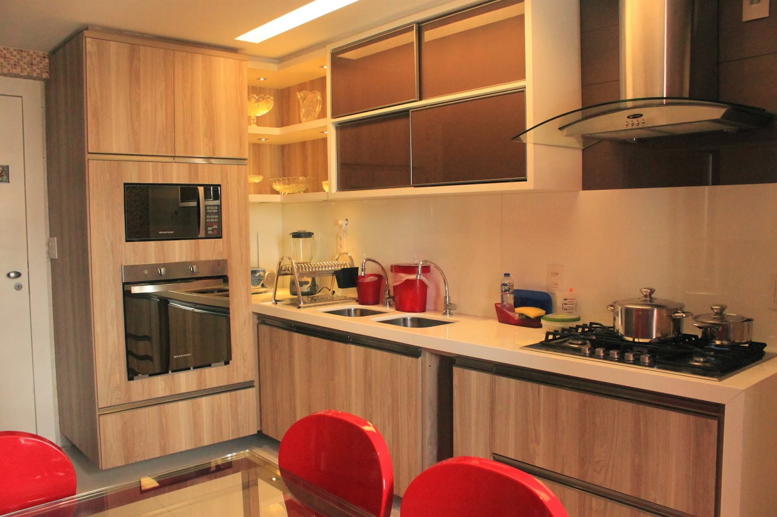 Rafaella lousada apartamento m f for Muebles de cocina americana fotos