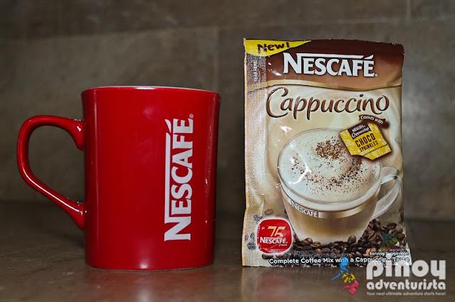A Traveler's Indulging NESCAFÉ Cappuccino Coffee Experience