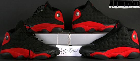 best cheap 3d665 45dce Air Jordan XIII BlackTrue Red (1998)