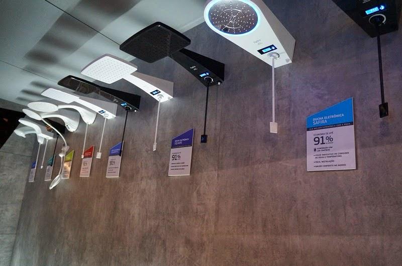 duchas com sistema digital - Hydra - Expo Revestir 2015