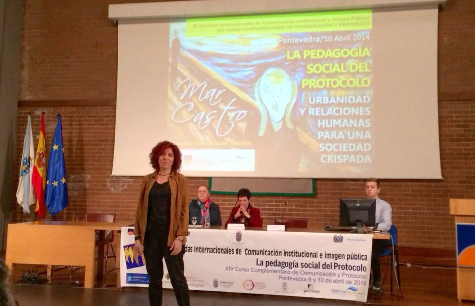 Protocolo y comunicación. Universidad de Vigo