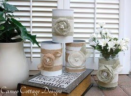 Recycled Tin Can and Glass Jar Crafts