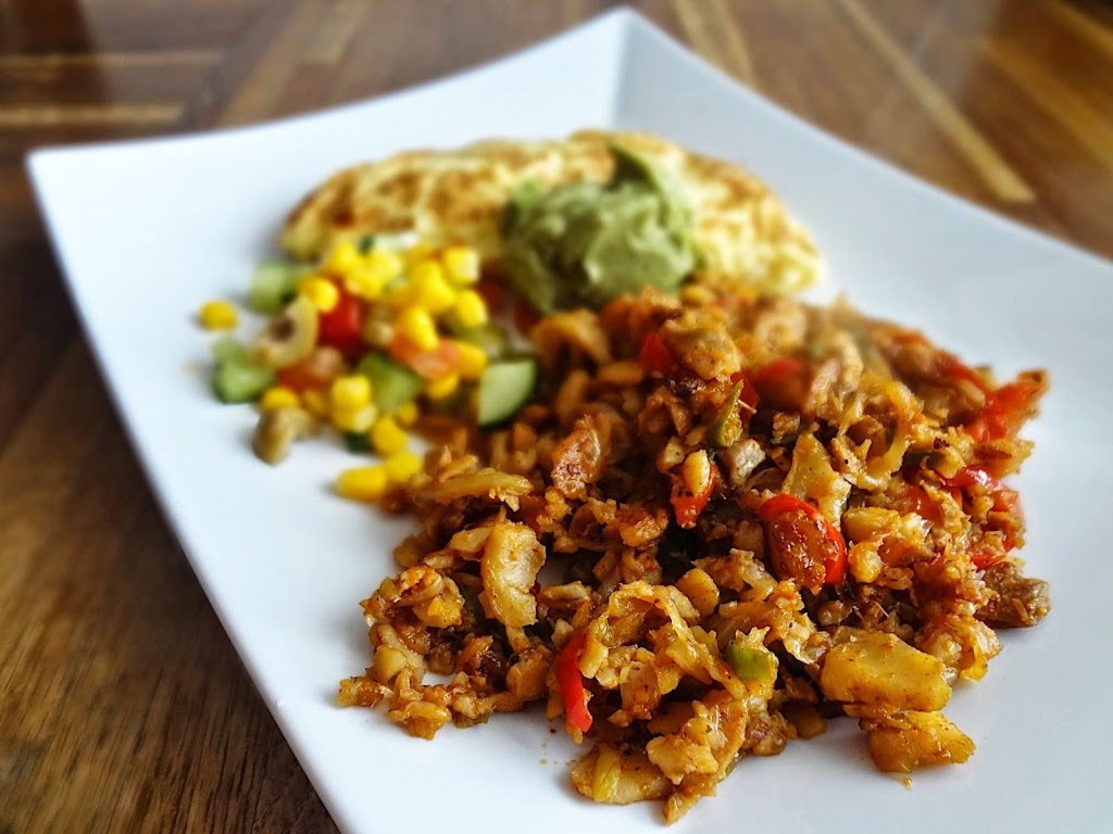 Leftover Fish Taco Breakfast