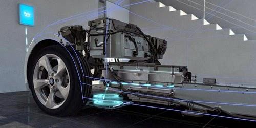 BMW Kembangkan Proses Isi Ulang Nirkabel untuk i3 dan i8