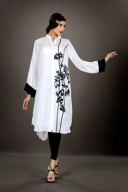 Silk by Fawad Khan - Complete Eid Dress Collection 2014 for Girls