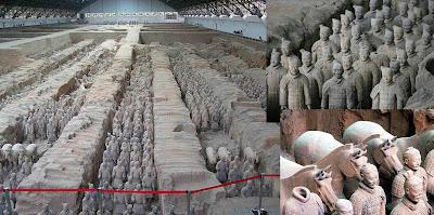 Terracotta Qin Shi Huang