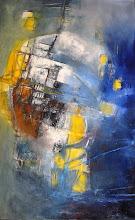La traversée - 130 x 81 cm - 1997