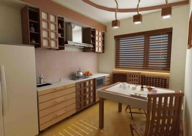 meuble de cuisine japonaise