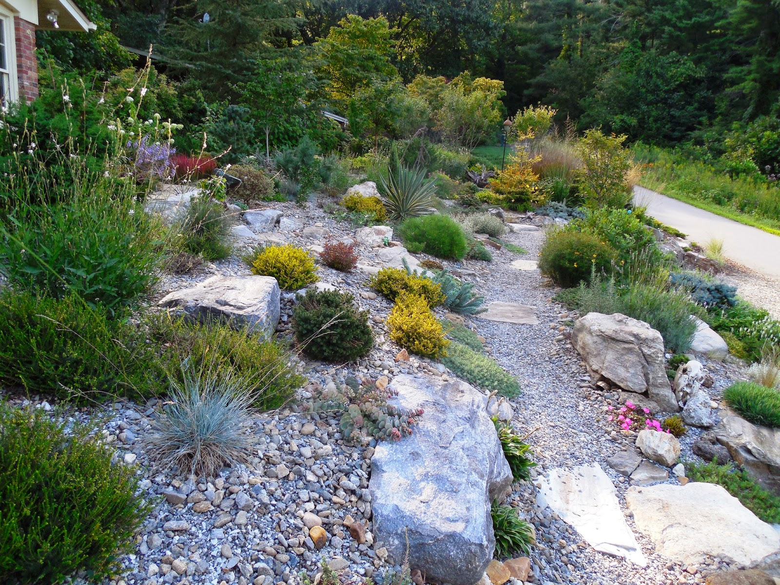 Unlike Perennial Borders, Which Tend To Be Rather Two Dimensional, Rock  Gardens Are Holographic In Their Design: Mind You This Is A Good Sized Rock  Garden, ...