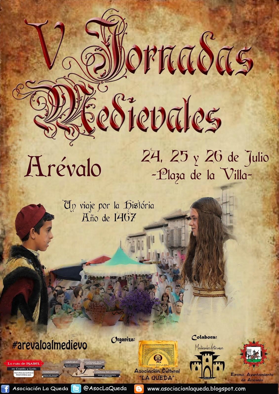 Cartel de las V Jornadas Medievales
