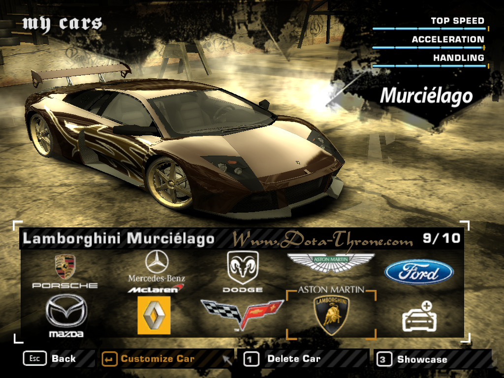 Need For Speed: Most Wanted No-CD Patches Game