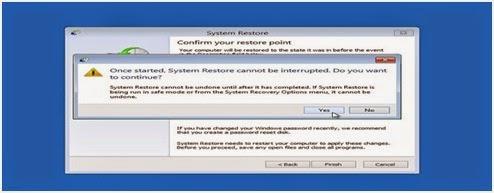 Cara Menggunakan System Restore Windows 8 yang Baik Dan Efektif