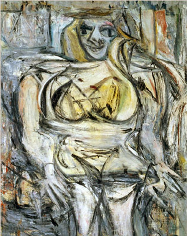Willem de Kooning Woman III, 1953 $ 162,4 (137,5) million